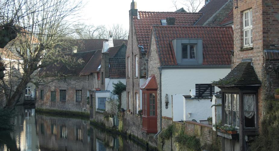Brugge vanaf het water | Mooistestedentrips.nl