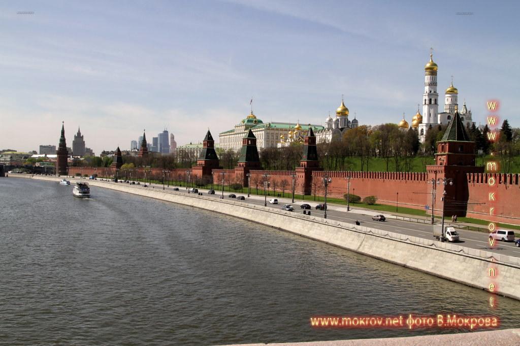 Вид на Моско́вский Кремль Парад победы 2015