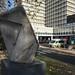 Modernist sculpture at Charing Cross Hospital