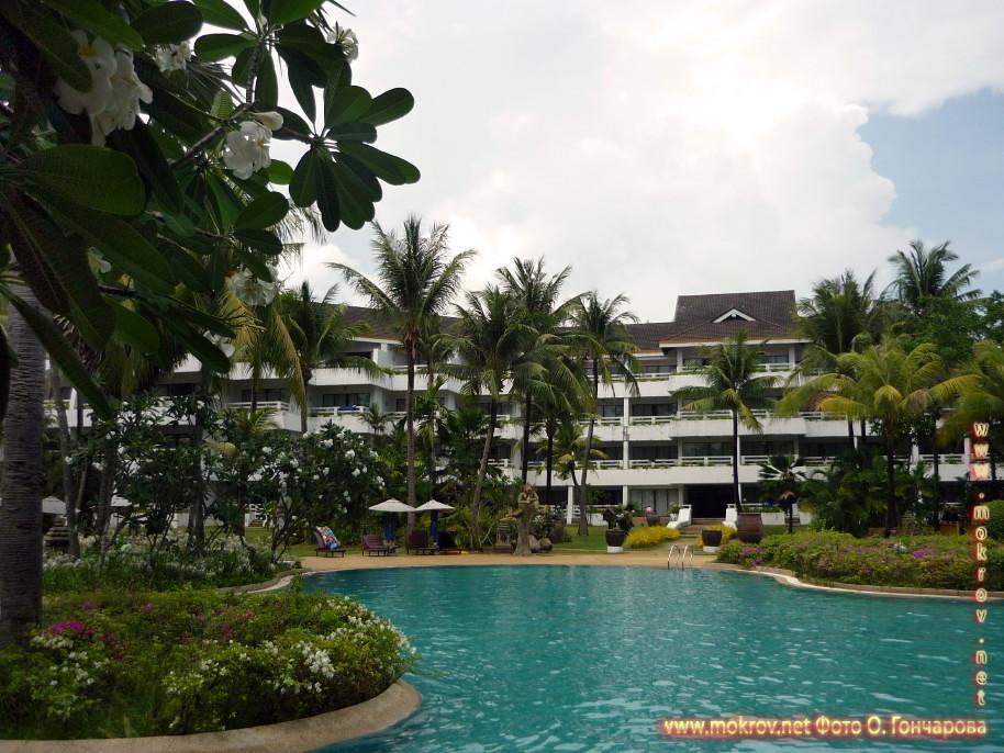 Палм - пляж в Таиланде фотозарисовки