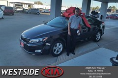#HappyBirthday to Joseph from Daryl Rawlings at Westside Kia!