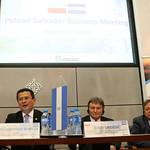 MINISTRO MARTÍNEZ ESTRECHA VÍNCULOS CON AUTORIDADES Y EMPRESARIOS DE POLONIA