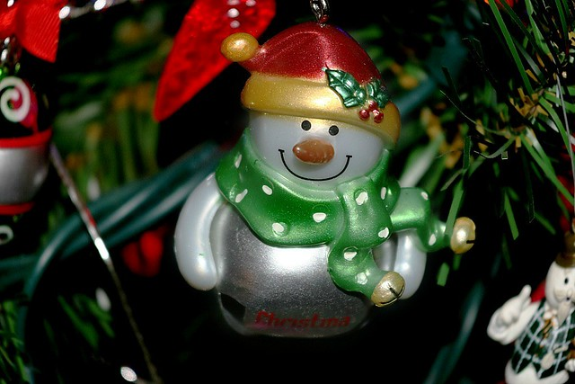 Silver Jingle Bell Snowman Yet Again 002