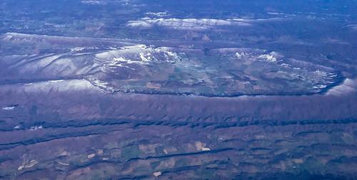 aerial view blue ridge mountains shenandoah valley near blacksburg va wytheville virginia unitedstates us vista allegheny blueridge mountain range