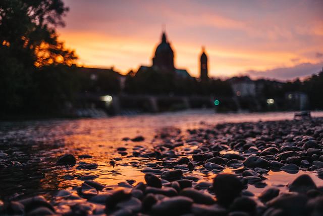Munich Sunset.