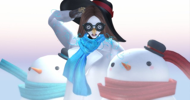 High Fashion Holidays - Snowman