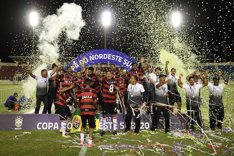 Vitória campeão da Copa do Nordeste Sub-20