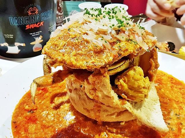 Dungeness Crab In Chili Crab Gravy