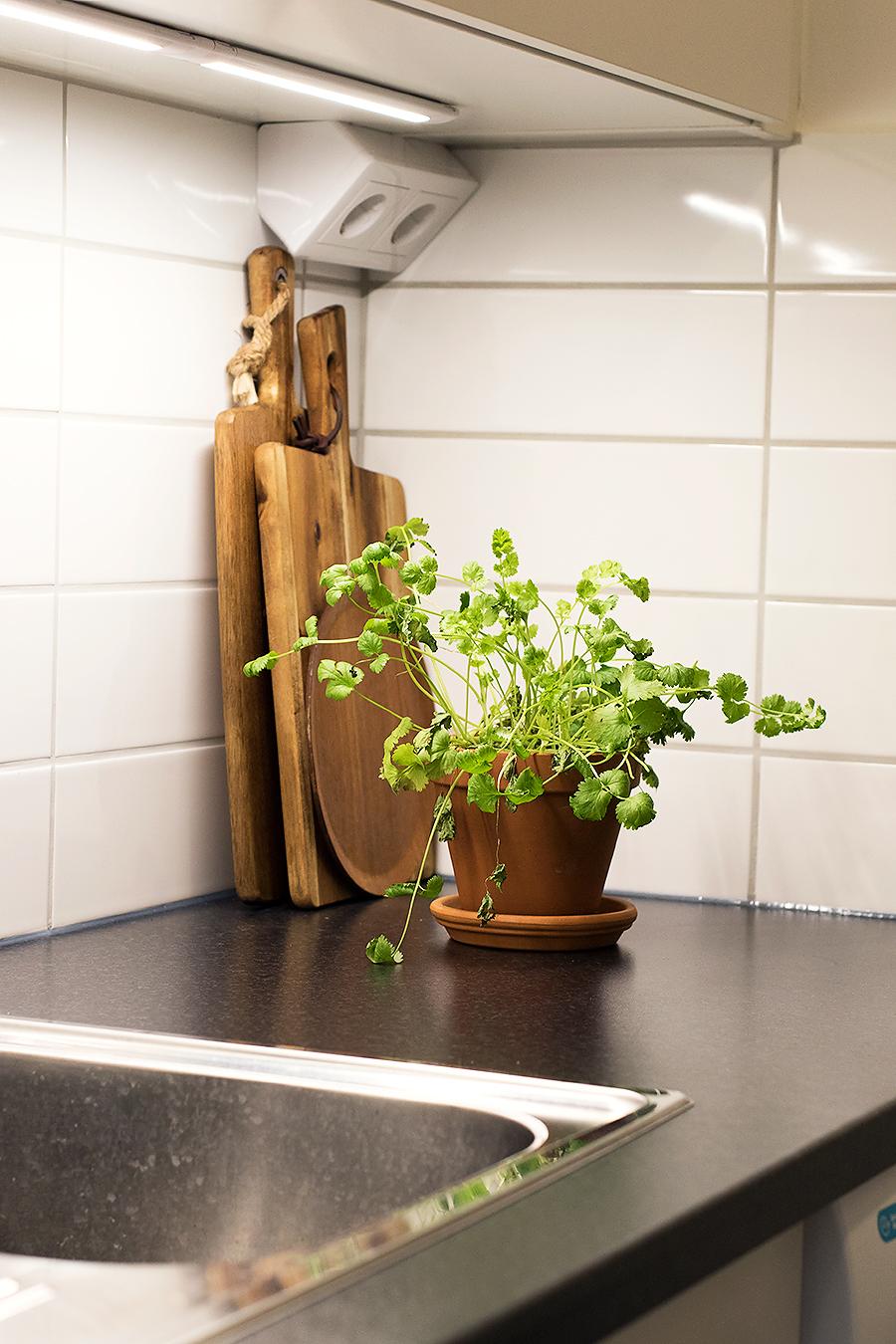 SÃ¥ ser vÃ¥r nya lägenhet ut: det röda köket som fick sig en ... : göra om kök : Kök