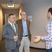 Rep. Sampson touring TicketNetwork in South Windsor with Sen. Markley.