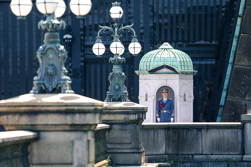 Guard at Imperial Palace