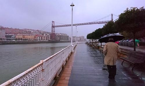 Precipitación continuada por la Ría