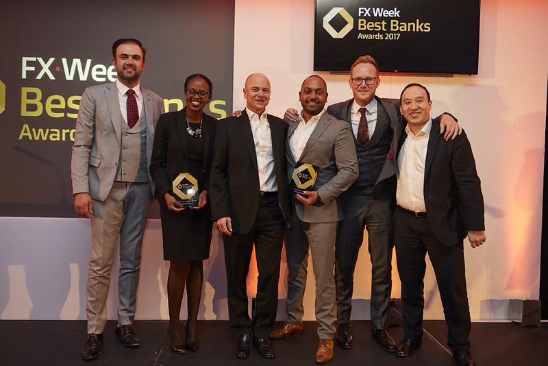 FX Week Best Bank Awards 2017