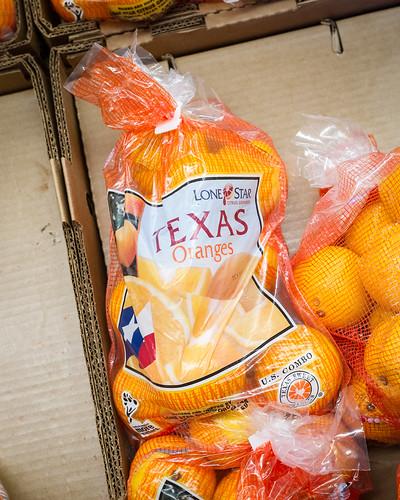 Texas Oranges in New Jerey