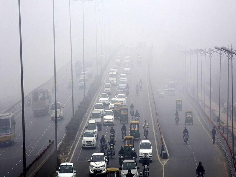 दिल्ली की जहरीली हुई हवा