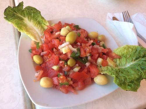 毎日トマトとオリーブ食べてた気がする