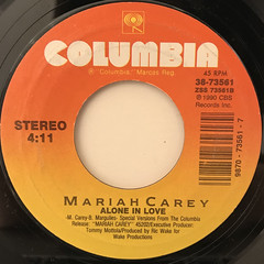 MARIAH CAREY:SOMEDAY(LABEL SIDE-B)