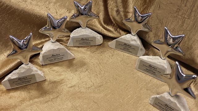 Volunteer stars shine at awards ceremony