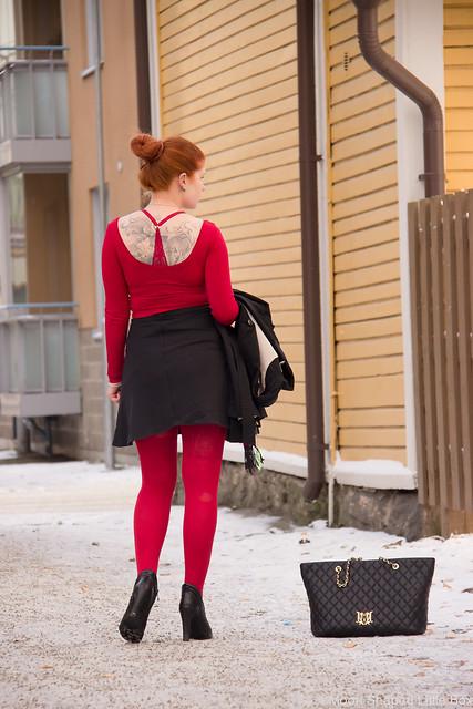 Päivän Asu fashion blogger oma tyyli