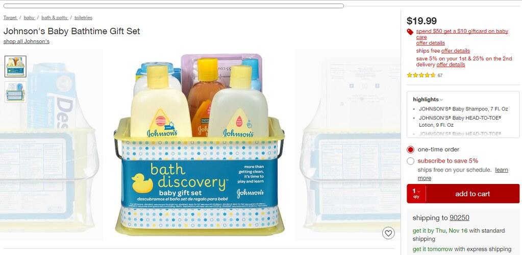 J&J Baby Registry at Target #RegisteringForBaby