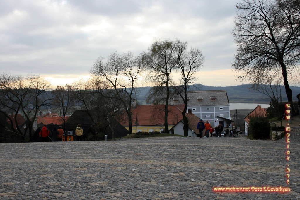 Исторический центр Полуостров Тихани — Венгрии фотозарисовки