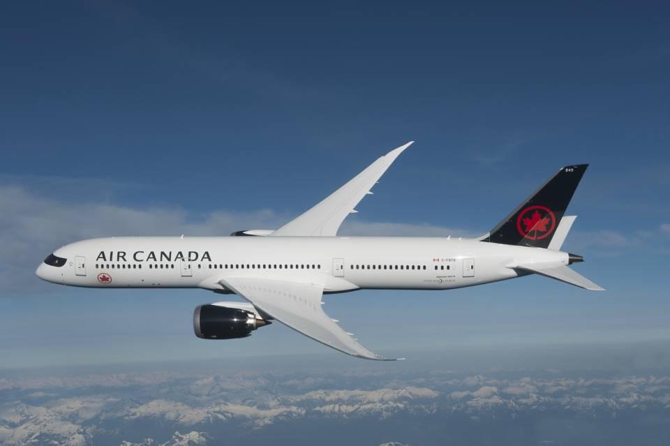 Air Canada reconocida como mejor aerolínea de Larga Distancia