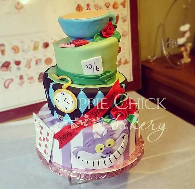 Cake byHippie Chick Bakery