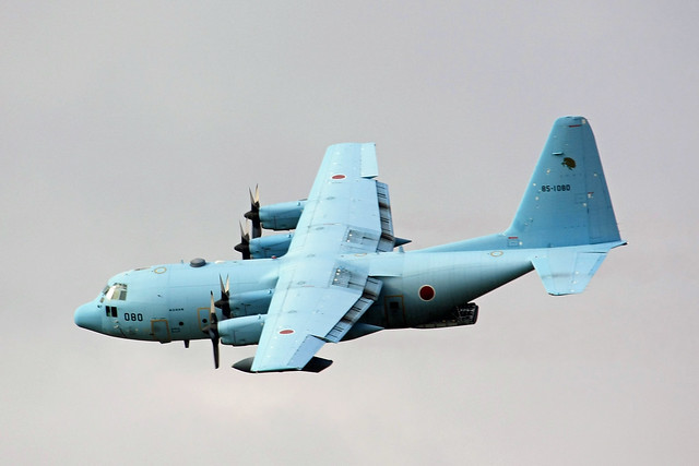 C-130H 第1輸送航空隊第401飛行隊 85-1080 IMG_6694_2