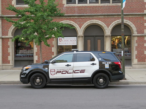 University of Chicago Police Car