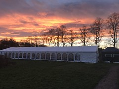 Marquee at David Livingstone Centre