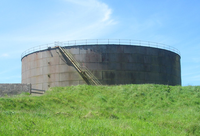 Oil Tank, Lyness Naval Museum, Hoy, Orkney