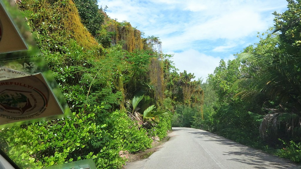 Droga do Anse Lazio Praslin