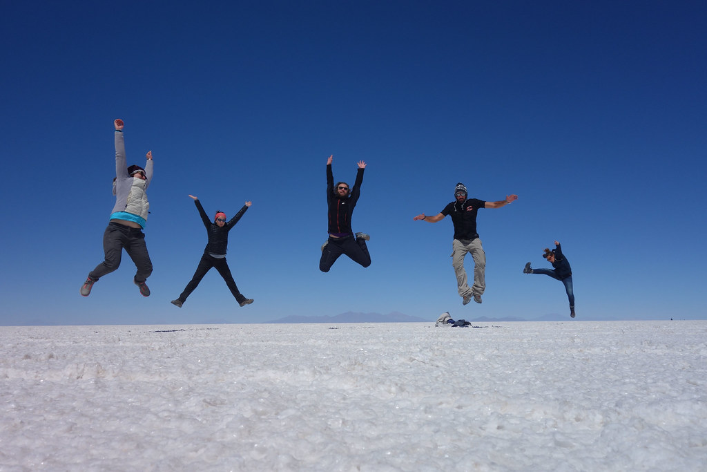 Uyuni - Salar - Jump 1