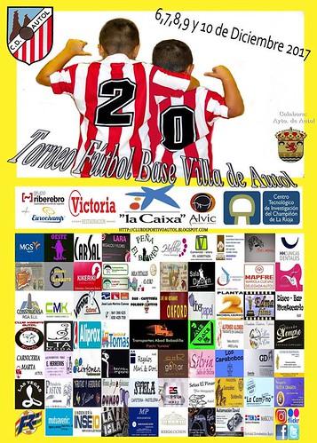 Primer dia del XX Torneo de Fútbol Base Villa de Autol