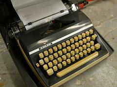 Bristol Hackspace: Adler Typewriter