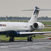 N1DG - 2005 build Bombardier BD700 Global Express 5000, parked remote to the main Signature apron at Manchester