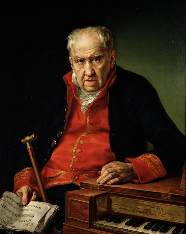 Vicent López i Portaña - Félix Máximo López, primer organista de la Real Capilla (1820)