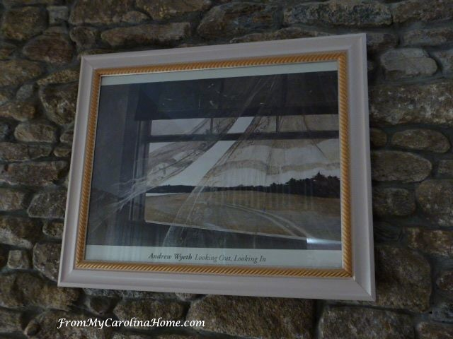 Wyeth Wind From the Sea framed