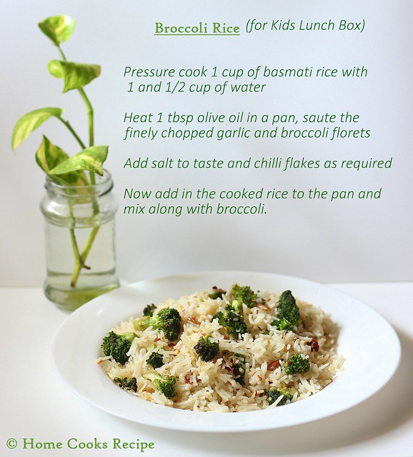 Broccoli Rice recipe