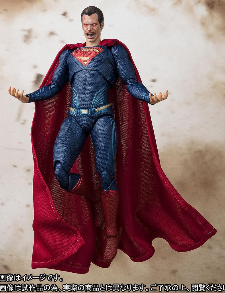 這個雷射眼感覺殺傷力很強啊~~S.H.Figuarts《正義聯盟》超人 スーパーマン (JUSTICE LEAGUE)