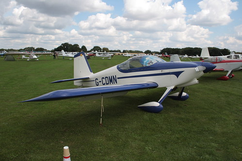 G-CDMN Van's RV-9 [PFA 320-14108] Sywell 010917