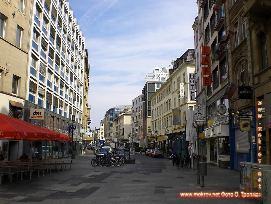 Исторический центр Города Франкфурт на Майне пейзажи