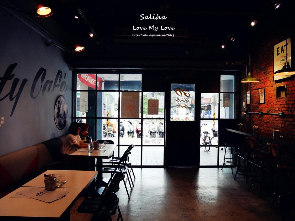 新店大坪林站附近美食餐廳推薦30咖啡 Thirty Cafe (1)