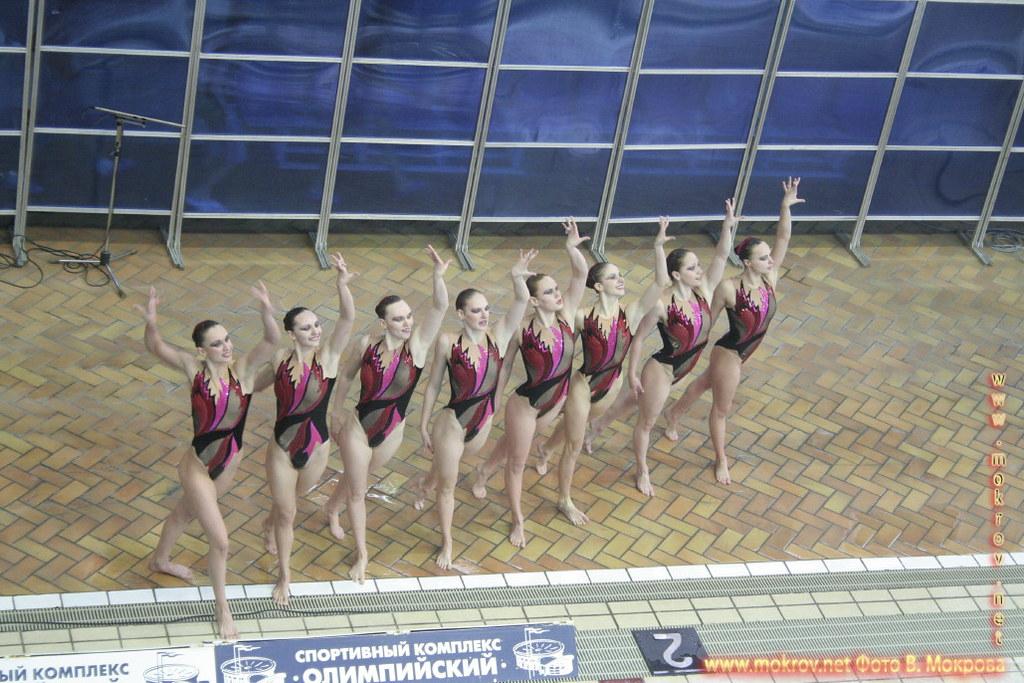 Сборная команда России по синхронному плаванию сделанные как днем, так и вечером