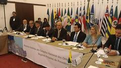 Secretário Marcelo Caetano fala na abertura da 61ª reunião do Conaprev, realizada em Salvador. 30.nov2017. FOTO - Sprev