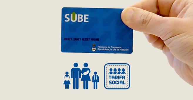 sacar SUBE con Subsidio