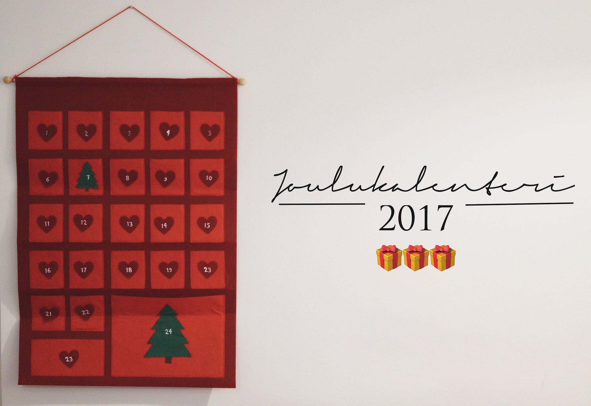 blogi joulukalenteri 2017
