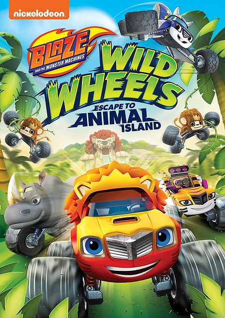 Blaze and the Monster Machines- Wild Wheels Escape to Animal Island Cover Art