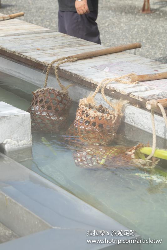 宜蘭大同鄉清水地熱,體驗露天竹簍煮食野餐趣,免費溫泉泡腳舒服又溫暖~