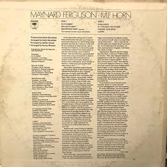 MAYNARD FERGUSON:M.F. HORN(JACKET B)